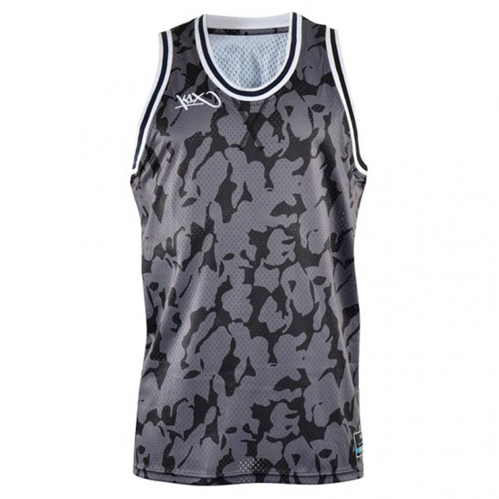 K1x Big Hole Mesh Double X Jersey - Noir Camo