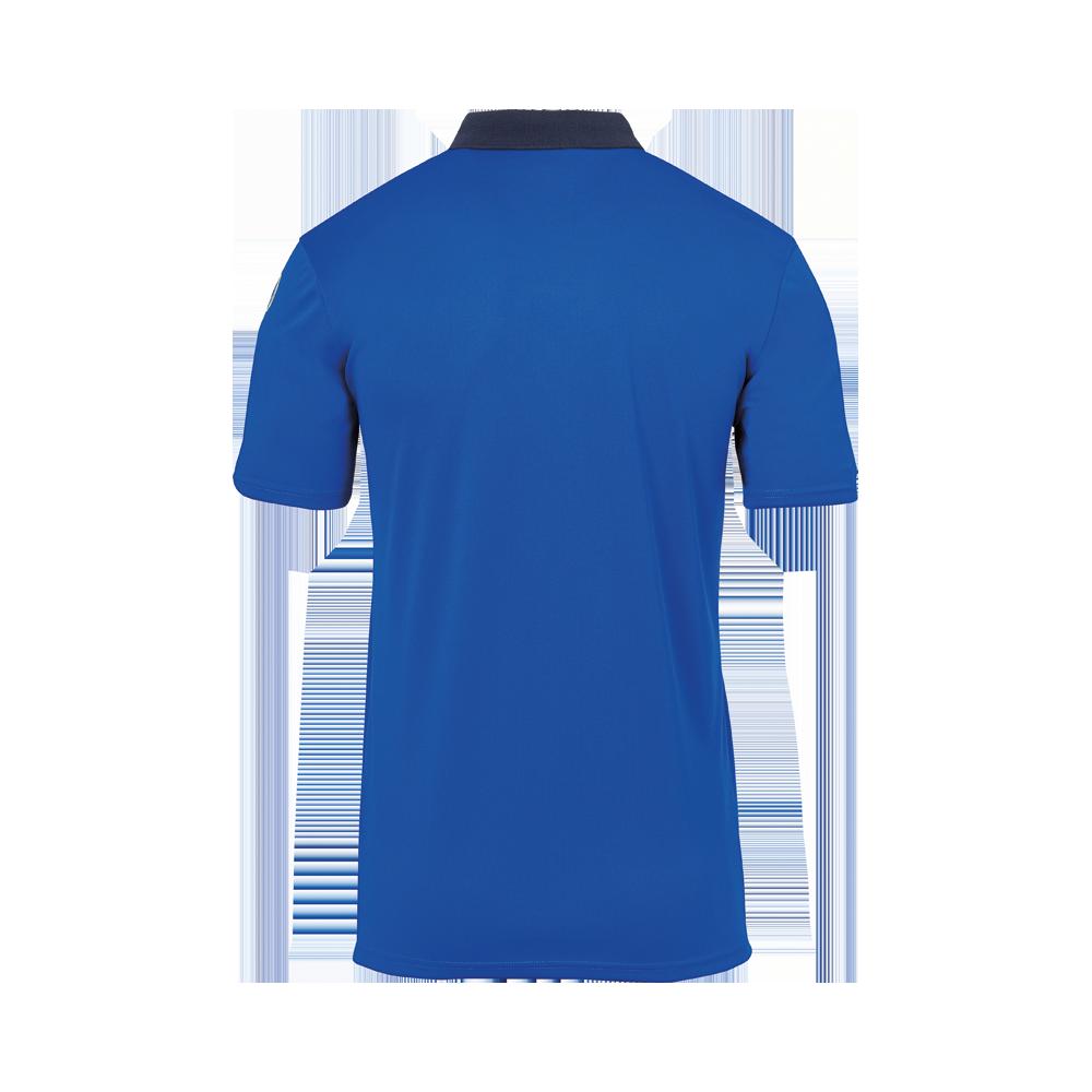 Uhlsport Offense 23 Polo Shirt - Azur, Marine & Blanc