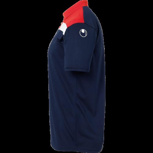 Uhlsport Offense 23 Polo Shirt - Marine, Rouge & Blanc