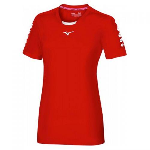 Mizuno Soukyu Shirt - Femme - Rouge