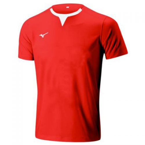 Mizuno Authentic Rugby Shirt - Rouge