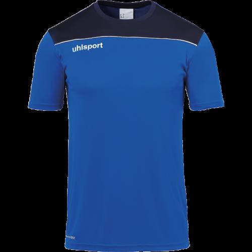 Uhlsport Offense 23 Poly Shirt - Azur, Marine & Blanc