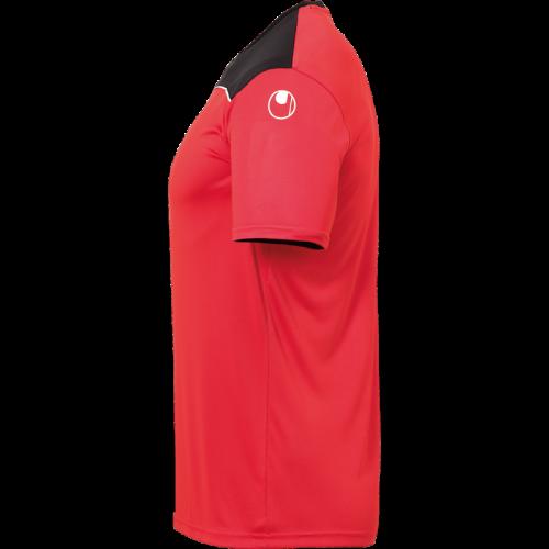 Uhlsport Offense 23 Poly Shirt - Rouge, Noir & Blanc