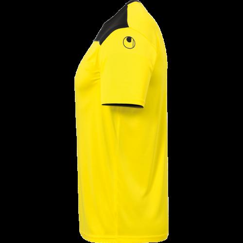 Uhlsport Offense 23 Poly Shirt - Jaune Citron, Noir & Anthracite
