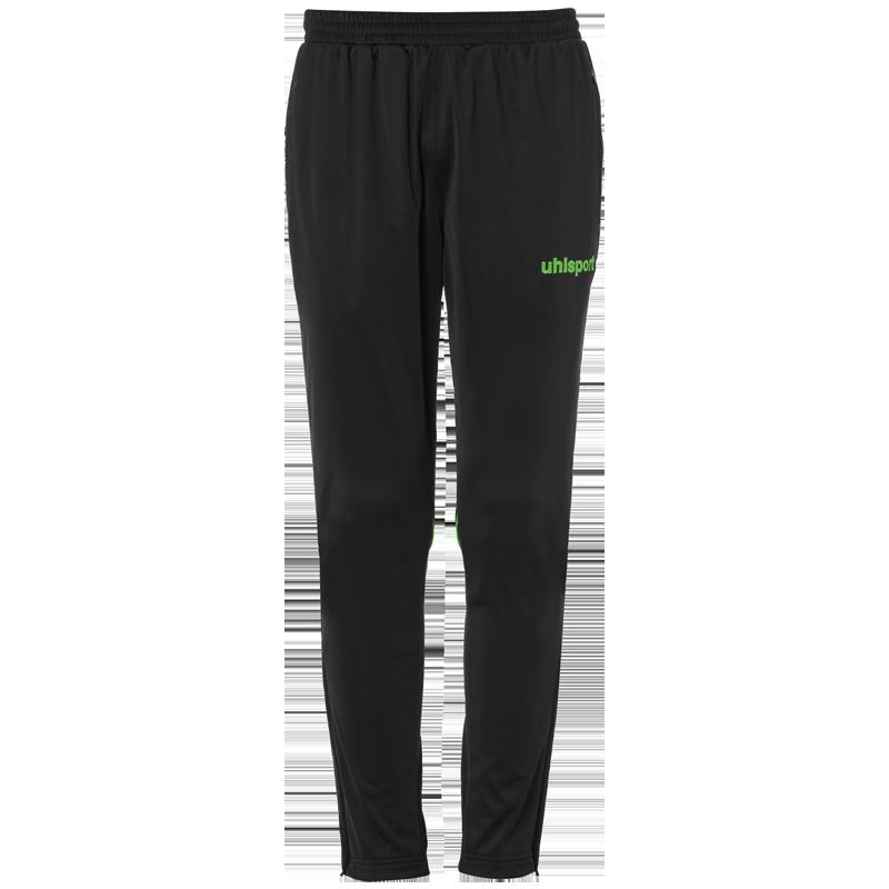 Uhlsport Stream 22 Track Pants - Noir & Vert Fluo