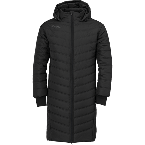 Uhlsport Essential Winter Bench Jacket - Noir & Anthracite