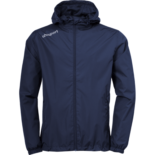 Uhlsport Essential Rain Jacket - Marine & Blanc