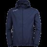 Uhlsport Essential Rain Jacket - Marine & Blanc