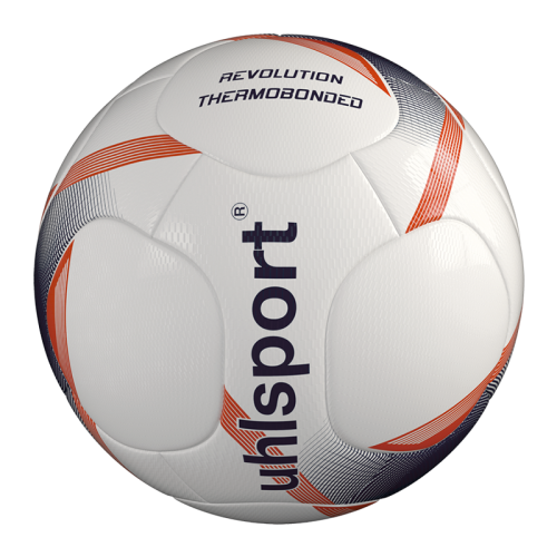 Uhlsport Revolution Thermobonded - Blanc, Marine & Rouge Fluo