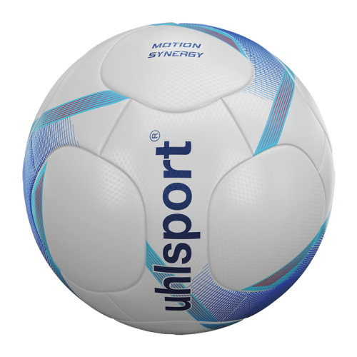 Uhlsport Motion Synergy - Blanc, Bleu Profond & Cyan