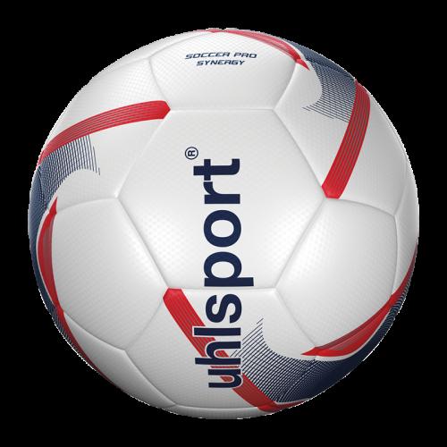 Uhlsport Soccer Pro Senergy - Blanc, Marine & Rouge Fluo