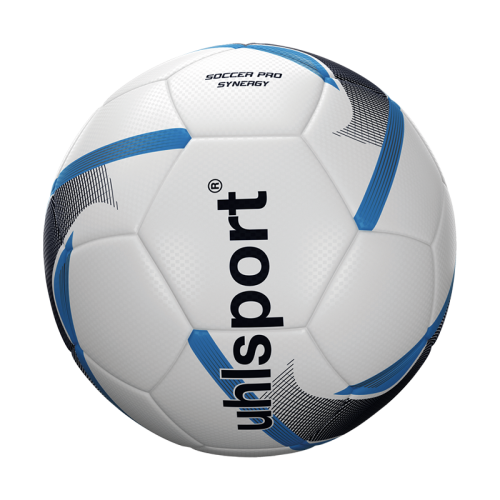 Uhlsport Soccer Pro Senergy - Blanc, Marine & Bleu Ciel
