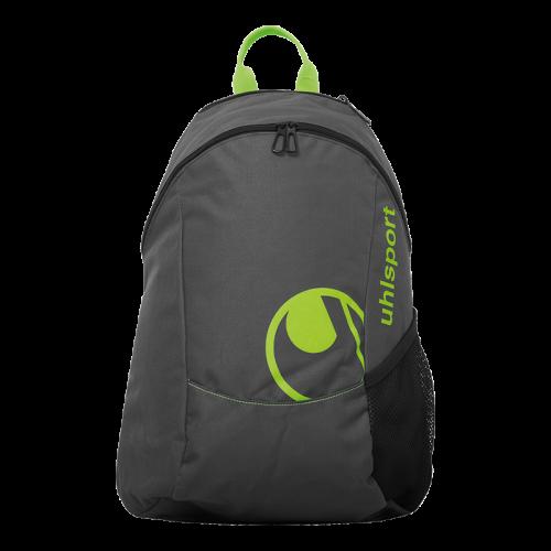 Uhlsport Essential Backpack - Vert Fluo & Anthracite