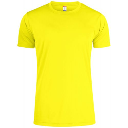 T-shirt Basic Active T - Jaune