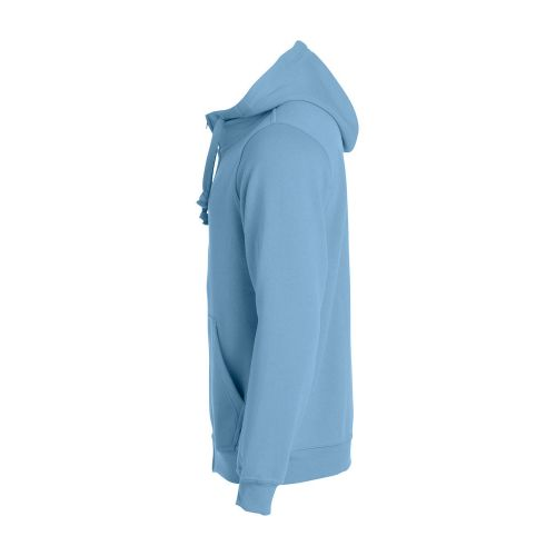 Basic Hoody Full Zip - Bleu Pâle