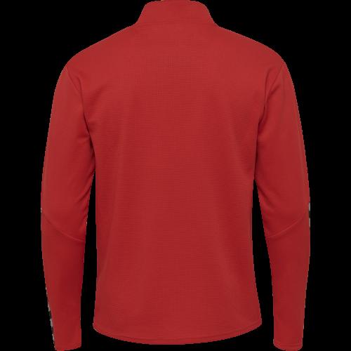 Hummel HML Authentic Half Zip Sweatshirt - Rouge
