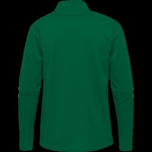 Hummel HML Authentic Half Zip Sweatshirt - Vert