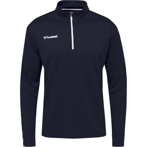 Hummel HML Authentic Half Zip Sweatshirt - Marine