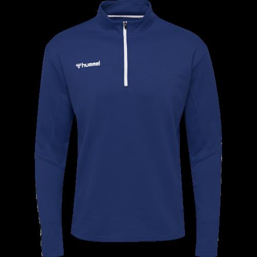 Hummel HML Authentic Half Zip Sweatshirt - Royal