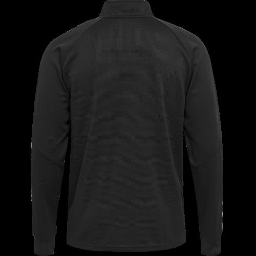 Hummel HML Authentic Poly Zip jacket - Noir & Blanc