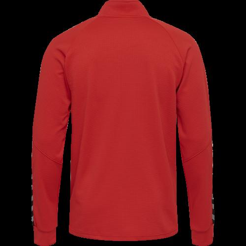 Hummel HML Authentic Poly Zip jacket - Rouge