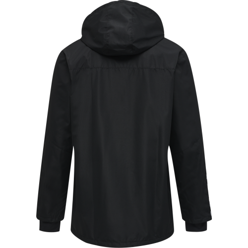 Hummel HML Authentic All-Weather Jacket - Noir & Blanc