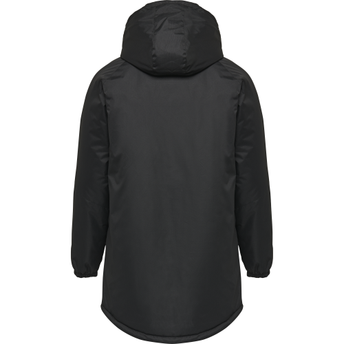 Hummel HML Authentic Bench Jacket - Noir & Blanc