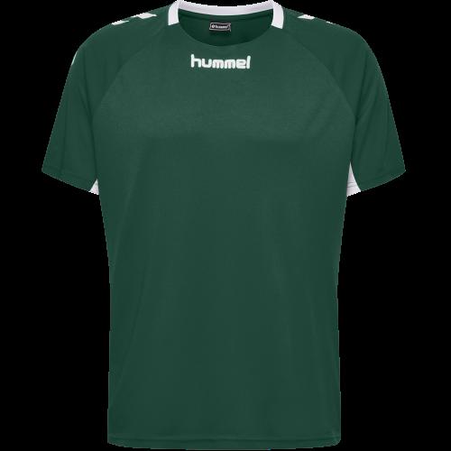 Hummel Core Team Jersey S/S - Vert Foncé