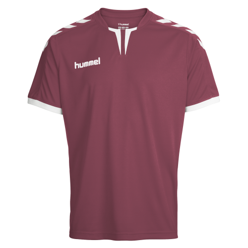 Hummel Core SS Poly Jersey - Bordeaux
