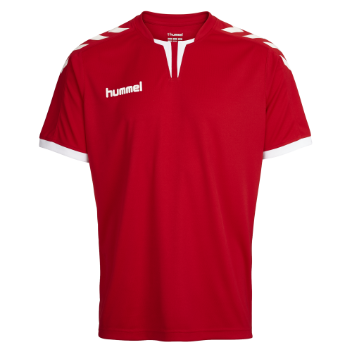 Hummel Core SS Poly Jersey - Rouge
