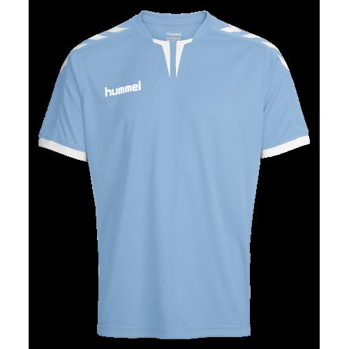 Hummel Core SS Poly Jersey - Bleu Ciel