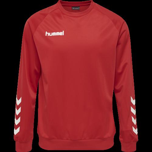Hummel HMLPromo Poly Sweatshirt - Rouge