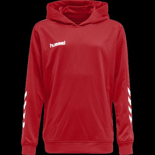 Hummel HMLPromo Poly Hoodie - Rouge