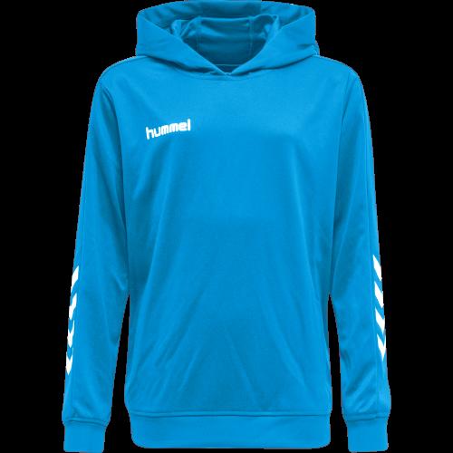 Hummel HMLPromo Poly Hoodie - Bleu Ciel