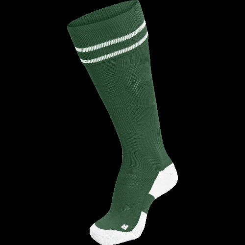 Hummel Element Football Sock - Vert Foncé & Blanc