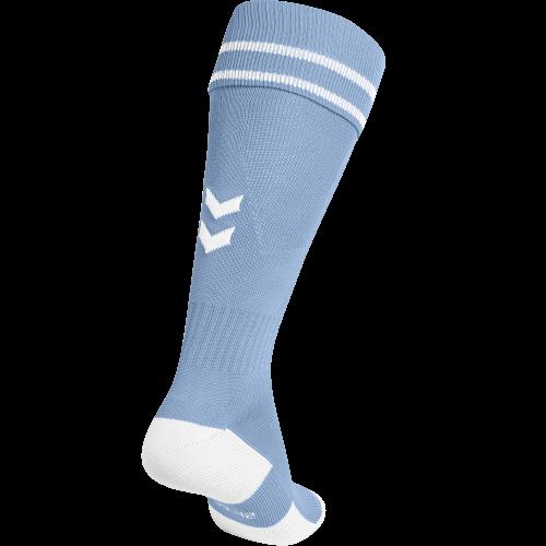 Hummel Element Football Sock - Bleu Ciel & Blanc