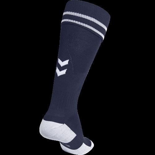 Hummel Element Football Sock - Marine & Blanc