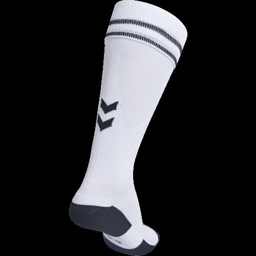 Hummel Element Football Sock - Blanc & Noir