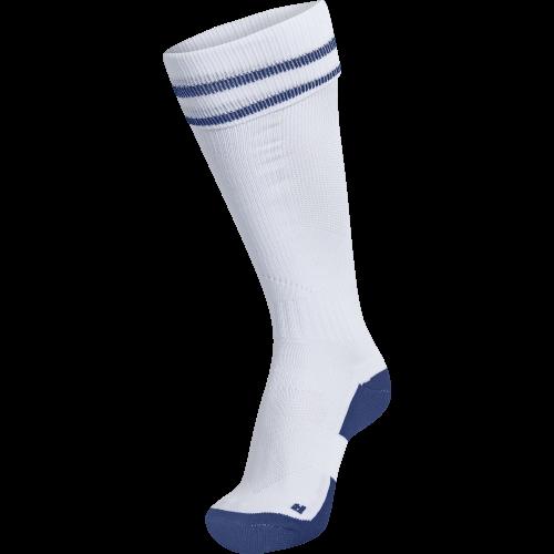 Hummel Element Football Sock - Blanc & Royal