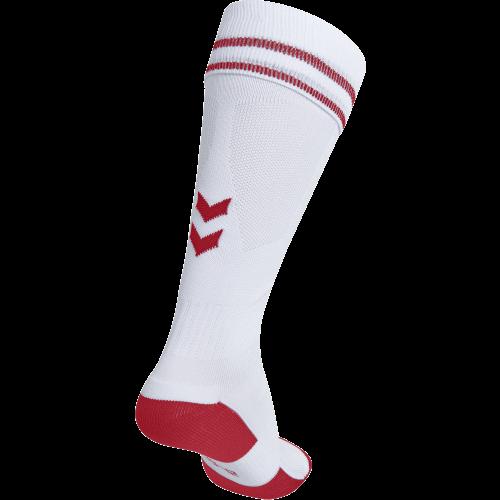Hummel Element Football Sock - Blanc & Rouge