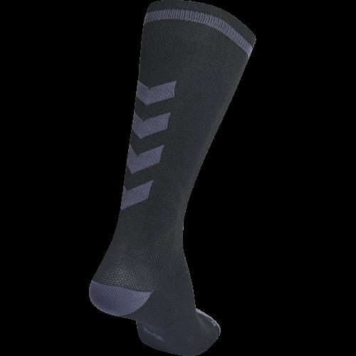 Hummel Elite Indoor Sock High - Noir & Gris Foncé