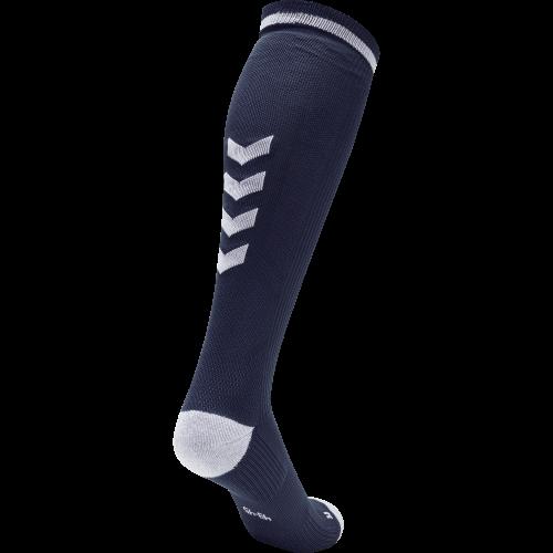 Hummel Elite Indoor Sock High - Marine & Blanc