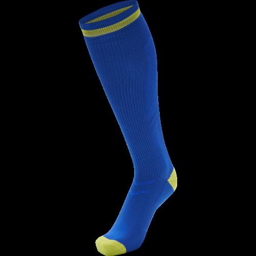 Hummel Elite Indoor Sock High - Royal & Jaune