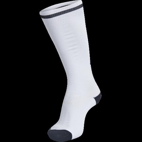 Hummel Elite Indoor Sock High - Blanc & Noir