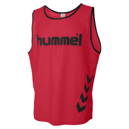 Hummel Fundamental Training BIB - Rouge