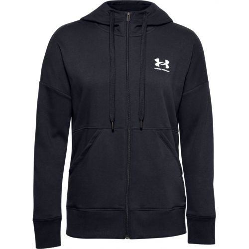 Under Armour Women's Rival Fleece Full-Zip Hoodie - Noir