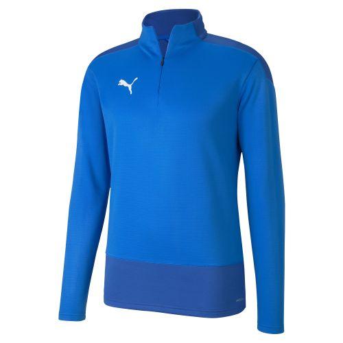 Puma Team Goal Training 1/4 Zip Top - Bleu Royal