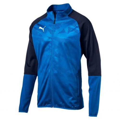 Puma CUP TRG Poly Jacket Core - Bleu & Noir