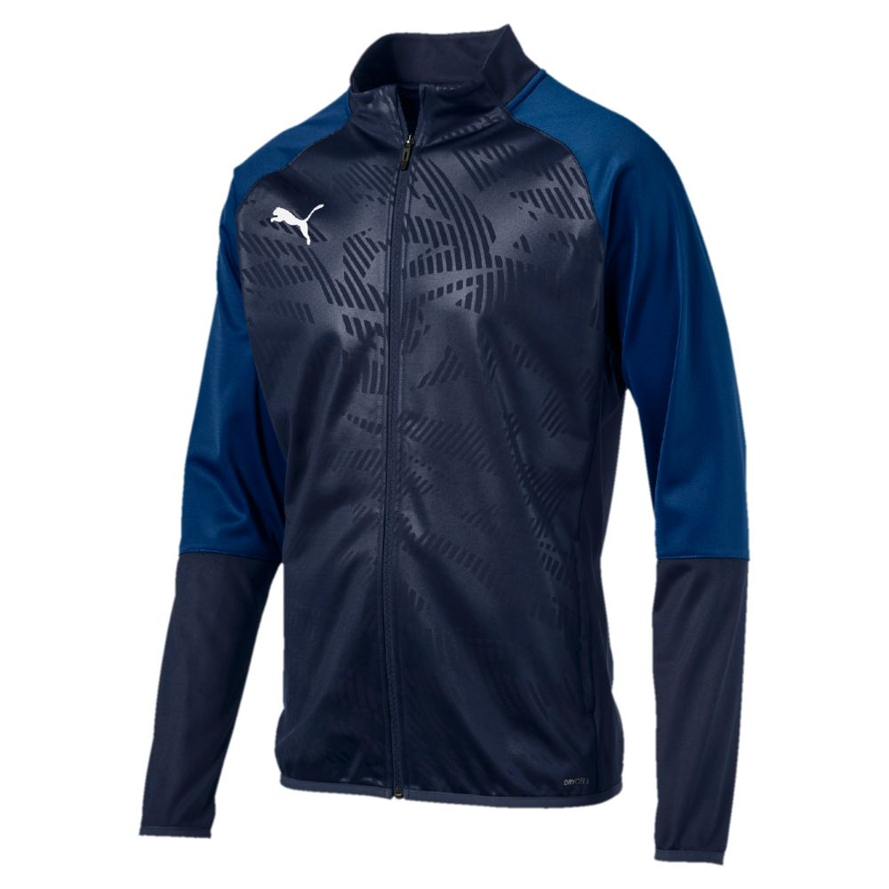 Puma CUP TRG Poly Jacket Core - Noir & Bleu MarinePuma CUP TRG Poly Jacket Core - Noir & Bleu Marine