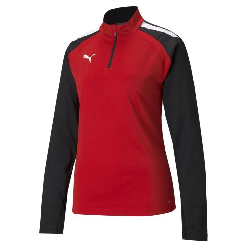 Puma team Liga 1/4 Zip Top Femme - Rouge